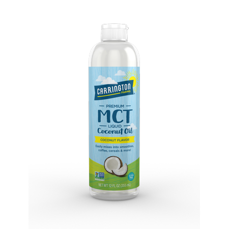 Carrington Farms MCT Liquid Coconut Oil, 12.0 Fl (Body Farm)