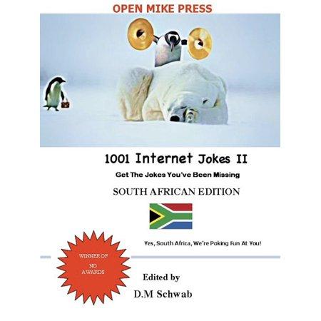 1001 Internet Jokes II - South African Edition - (Best Internet Deals South Africa 2019)