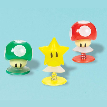 Super Mario Creature Pop-Up Favors (6 Pack) - Party Supplies](Super Mario Party Ideas)