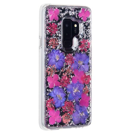 newest 82ae5 222c4 Samsung Galaxy S9 Plus Case-mate Purple Karat Petals case | Walmart ...