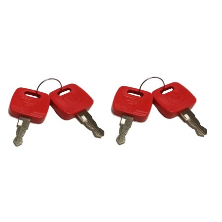 John Deere Key - John Deere Key Fits 7000 & 8000 Series Tractors (TWO Sets) - RE183935