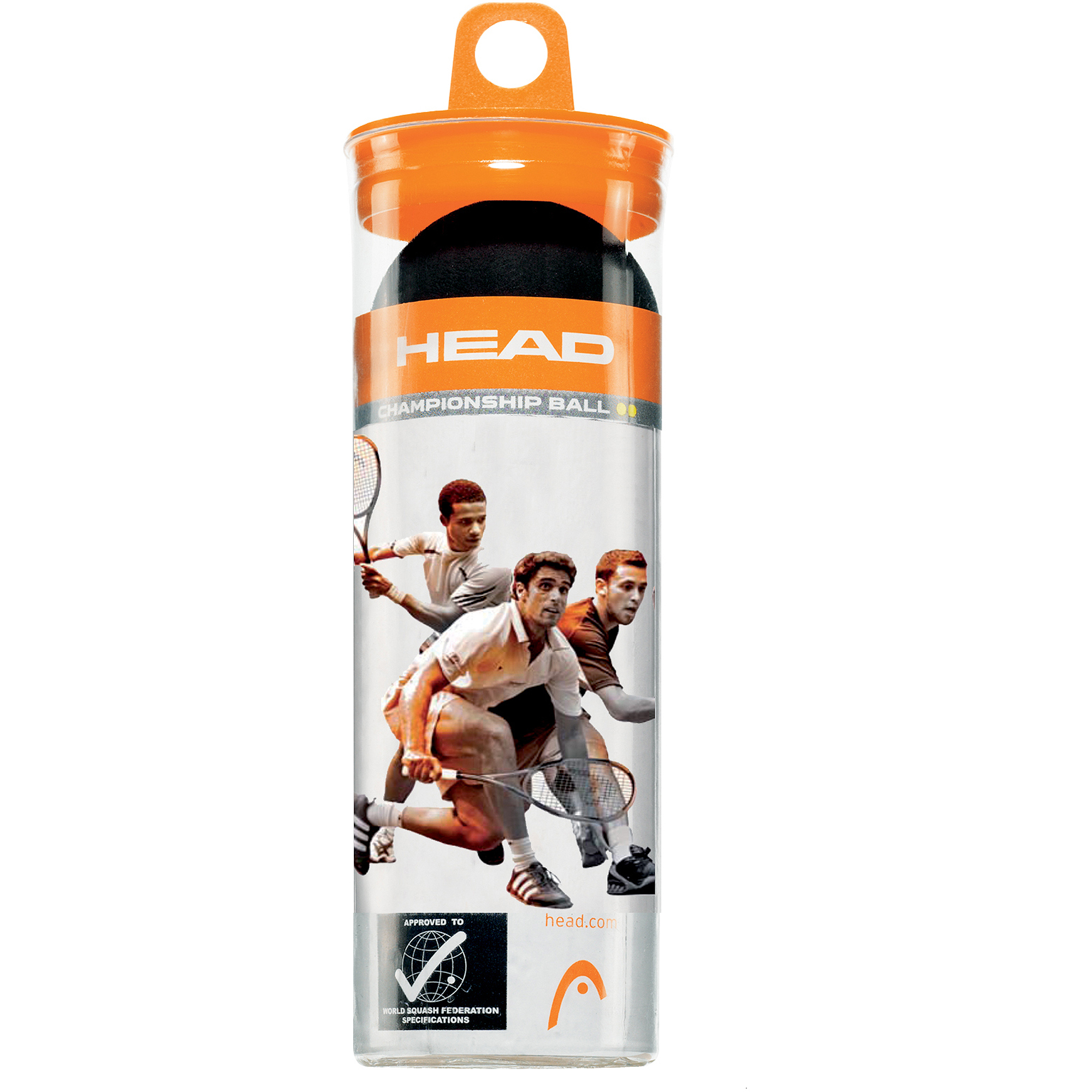 HEAD Squash 3 Ball Championship Tube