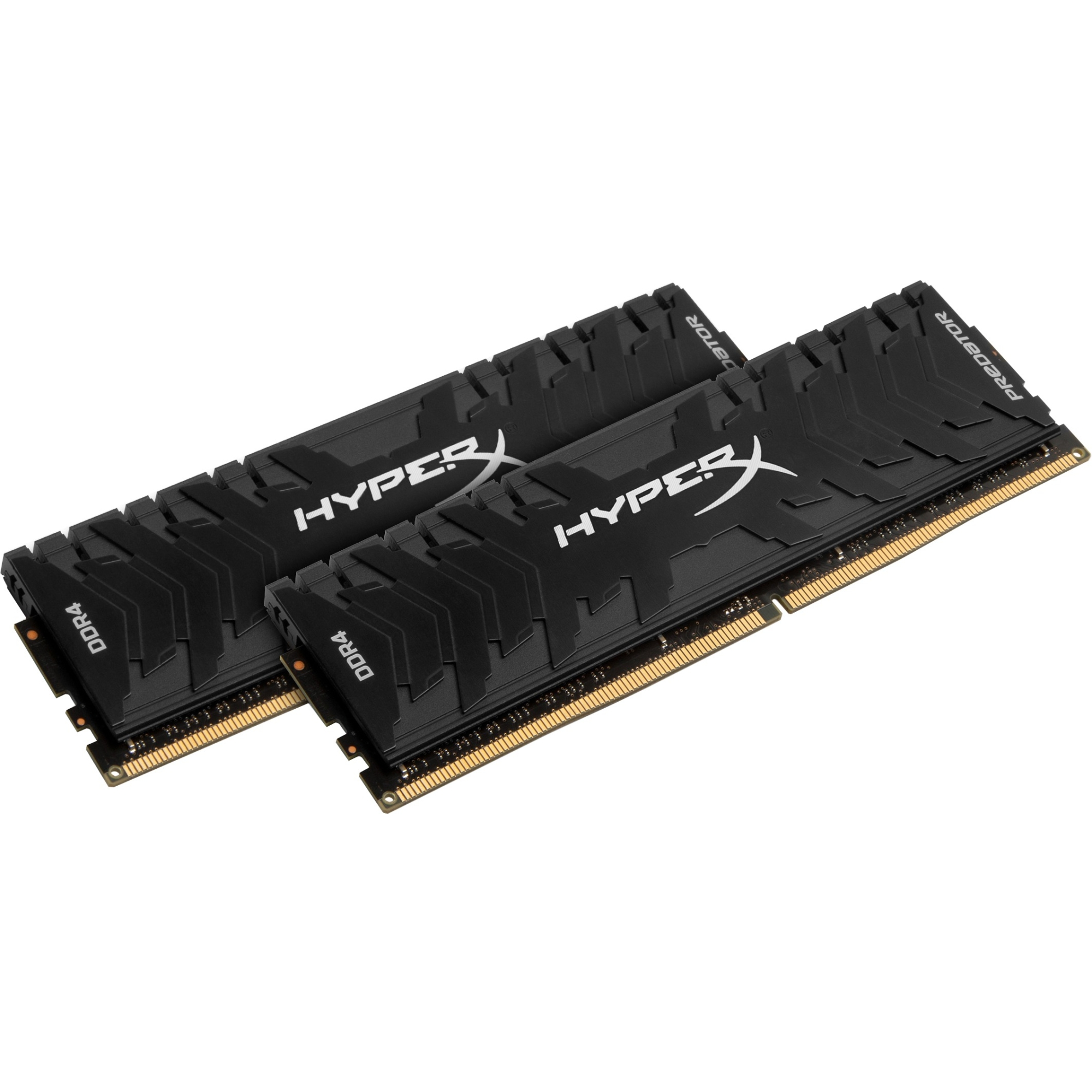 Kingston Predator Memory Black - 8GB Kit (2x4GB) - DDR4 3000MHz Intel XMP CL15 DIMM - 8 GB (2 x 4 GB) - DDR4 SDRAM - 3
