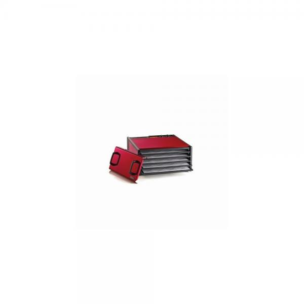5 Tray Dehydrator with Timer Color: Cherry by Excalibur Dehydrators