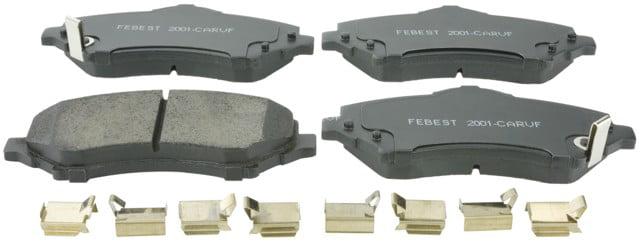 Brake Pad Kit FEBEST 2001-CARVF OEM 68003701AA