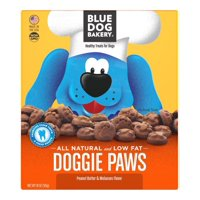 Blue Dog Bakery Doggie Paws Peanut Butter Dog Treats, 18 Oz