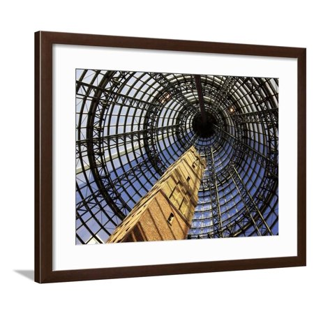 Historical Shot Tower, Melbourne Central Mall, Melbourne, Victoria, Australia Framed Print Wall Art By David (Tower Place Mall)