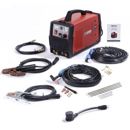 Amico Power CTS-160, 30 Amp Plasma Cutter & 160 Amp TIG-Torch/Stick Arc Welder 3-in-1 Combo Welding 120/240V New