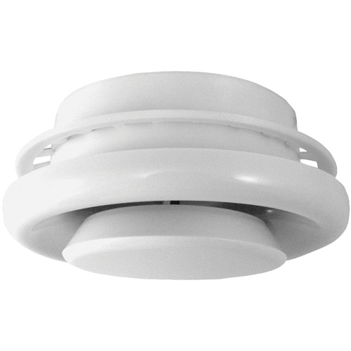 """Deflecto TFG6 6"""" Suspended Ceiling Diffuser"""