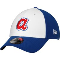 Atlanta Braves New Era Cooperstown Collection Team Classic 39THIRTY Flex Hat - White