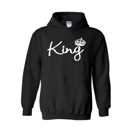 King Crown Unisex Hoodie Hooded Sweatshirt