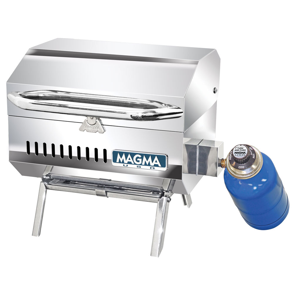 "Magma A10-801 Connoisseur Series Trailmate 9"" x 12"" Stainless Steel Gas Grill"