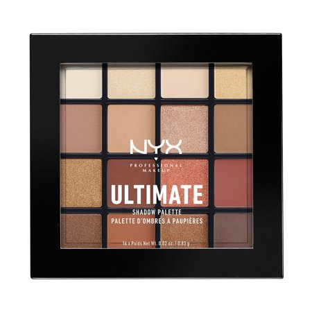 NYX Professional Makeup Ultimate Shadow Palette, Warm Neutrals - Walmart.com