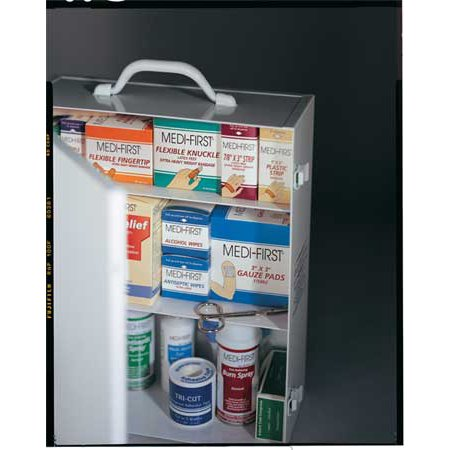 Medique 745Ls First Aid Kit  Bulk  White  26 Pcs  150 Ppl