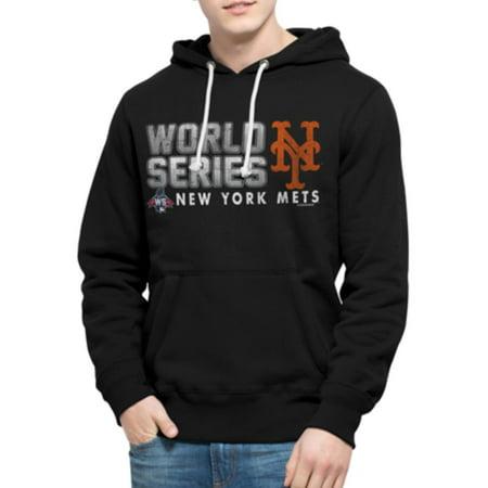 New York Mets 47 Brand 2015 World Series Cross-Check Hoodie Sweatshirt by