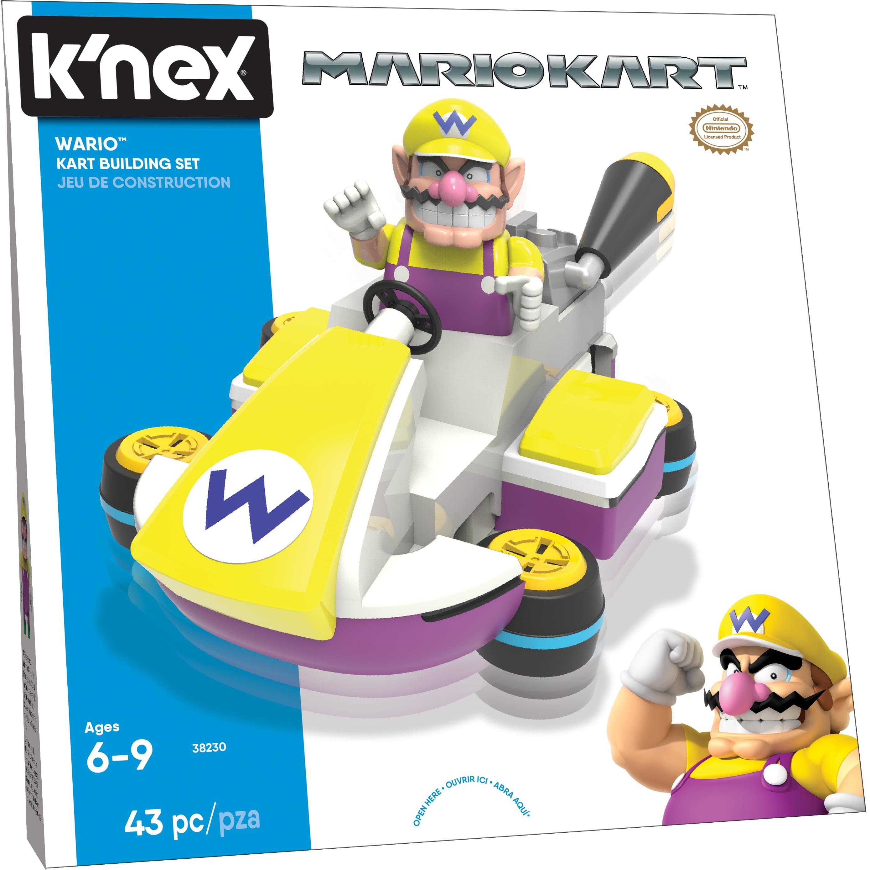 K'NEX Mario Kart Wario Kart Building Set