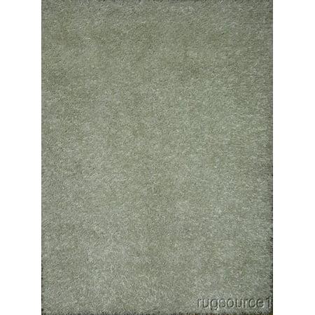 rugsource modern white ivory 5x7 shaggy handmade oriental area rug. Black Bedroom Furniture Sets. Home Design Ideas