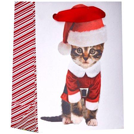 Jillson & Roberts Tiny Gift Bags, Kitty Christmas (30 Pcs)](Tiny Gift Bags)