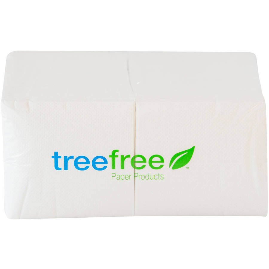 Green2 Tree Free Beverage Napkins, 4000 count by