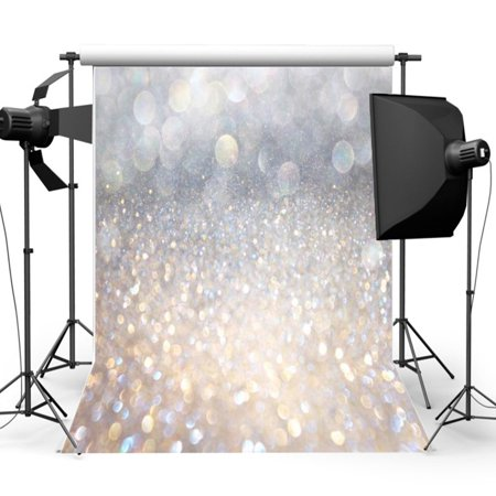 5x7FT Christmas Glitter Photography Vinyl Backdrop Background Photo Studio Props Wedding Valentine's Day - Prom Backgrounds