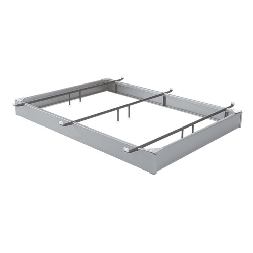 Aluminum Hook Finish Bed Frame, King by Fashion Bed Group