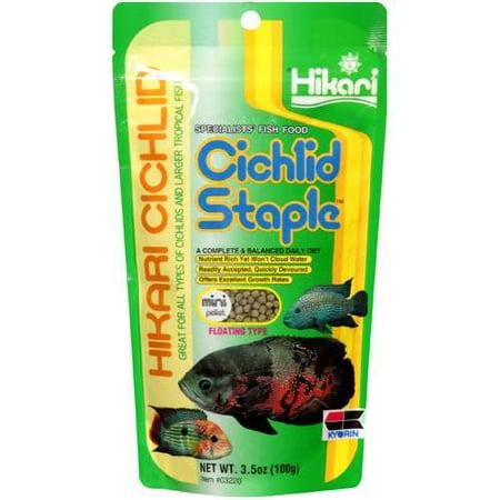 Hikari cichlid staple mini for Walmart fish food