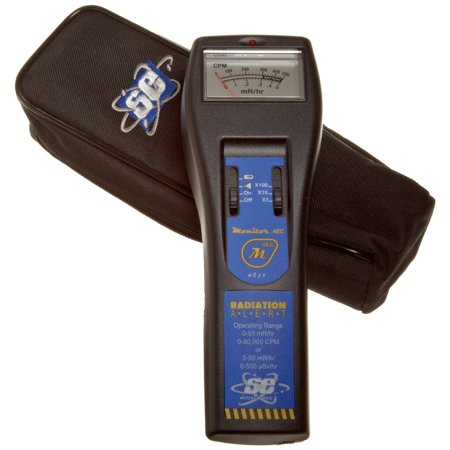 S.E. Monitor 4EC Geiger Counter Analog Handheld Nuclear Radiation Monitor