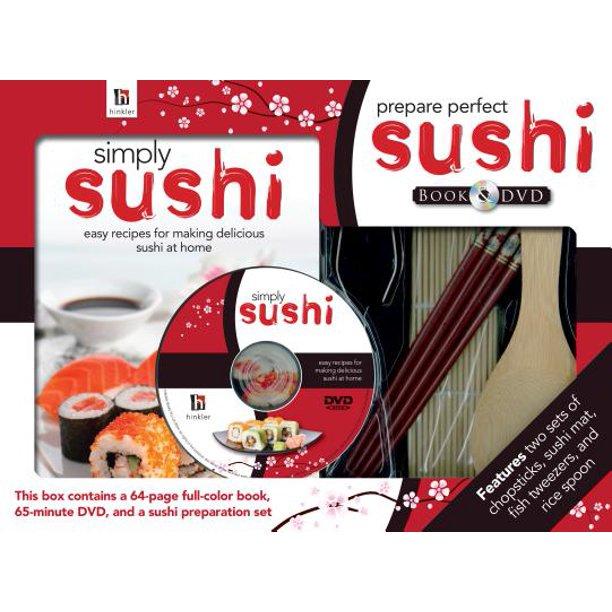 Prepare Perfect Sushi Book And Dvd Walmart Com Walmart Com