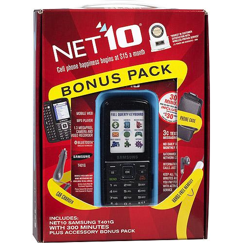 NET10 Samsung T401G Slider Phone, Black - Walmart.com