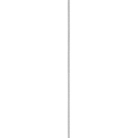14k or blanc WG 1mm octogonal cha?ne Serpent - image 1 de 4