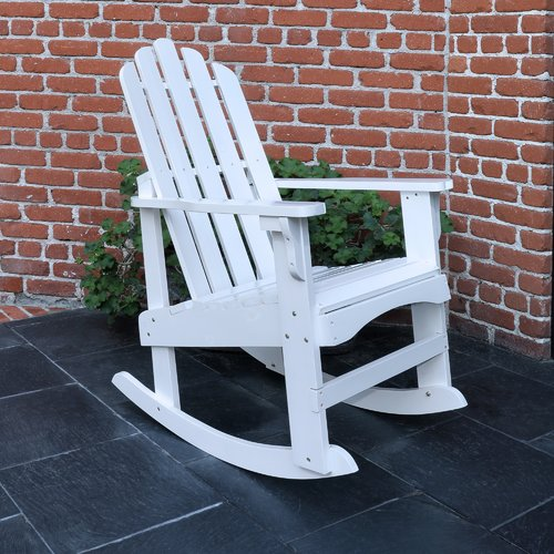 Marina Porch Rocker - White