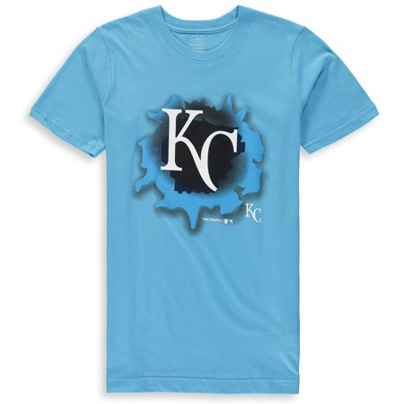 MLB Kansas City ROYALS TEE Short Sleeve Boys OPP 100% Cotton Alternate Team Colors 4-18](City Boy)