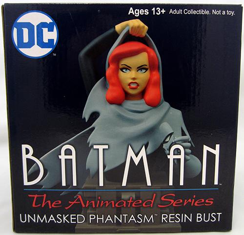 Batman The Animated Series 7 Inch Bust Statue - Maskless Phantasm Bust - image 1 de 2