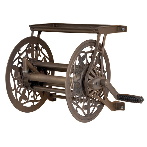 Ames Metal Wall Mounted Hose Reel by Ames
