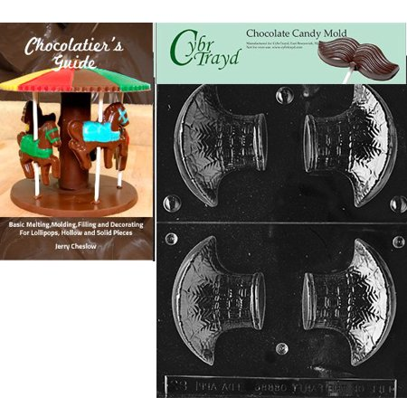 Cybrtrayd Small Fancy Basket Easter Chocolate Candy Mold with Our Chocolatier