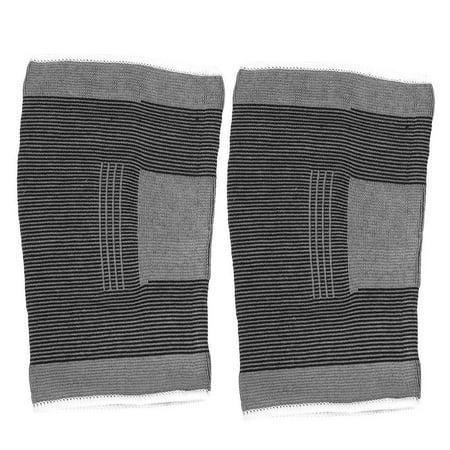 TOPINCN Le coton a tricoté les genouillères sportives chaudes élastiques de basket-ball de football de volley-ball en cours d'exécution de soutien de genoux, enveloppe de genou, appui de genou - image 4 de 8