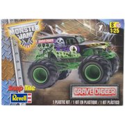 Snaptite Plastic Model Kit-Grave Digger Monster Truck 1:25