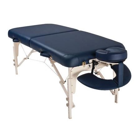 Solutions luxor portable wood massage table color burgundy - Portable massage table walmart ...