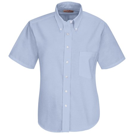 Women's Short Sleeve Executive Oxford Dress Shirt