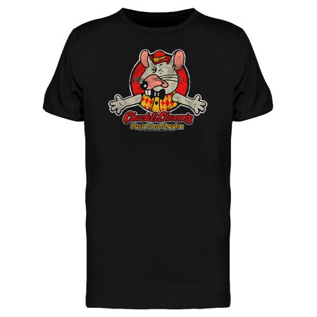 Chuck E Cheese Vintage Pizza Logo Men's T-shirt - Chuck E Cheese Costume