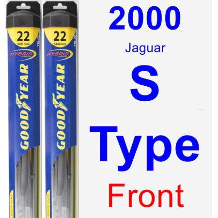 2000 Jaguar S-Type Wiper Blade Set/Kit (Front) (2 Blades) - (2000 Jaguar S Type Front Bumper Cover)