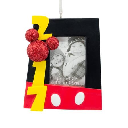 hallmark disney mickey mouse 2017 picture frame christmas ornament - Mickey Mouse Picture Frame