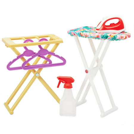 My Life As Ironing Play Set, 6 Pieces (Iron Dolls)