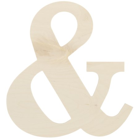 """Baltic Birch Collegiate Font Letters & Numbers 13""""-&"""