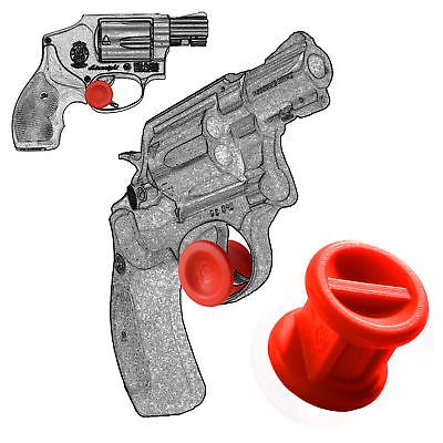 ONE Trigger Stop Holster For Smith & Wesson Revolver J Frame All Cal Red