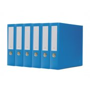 Bindertek 3-Ring 3-Inch Premium Binder Packs, Ocean Blue BDS3EFPACKOB