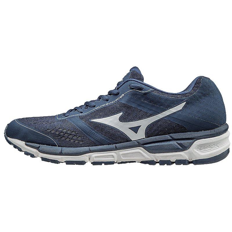 Mizuno Men's Synchro MX Trainer Baseball Shoes (Navy/Whit...