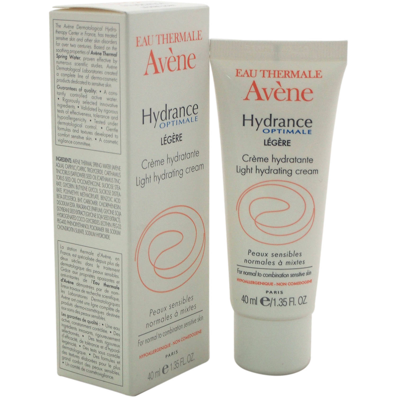 Eau Thermale Avene Hydrance Optimale Light Hydrating Cream, 1.35 fl oz