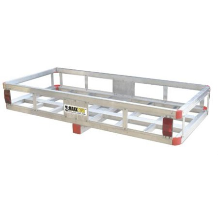 MaxxHaul 70108 Aluminum Cargo Carrier, 500 lb Capacity with High Side