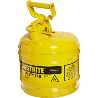 Safety Can 2 Gal/7.5L Yellow Flam Liquids